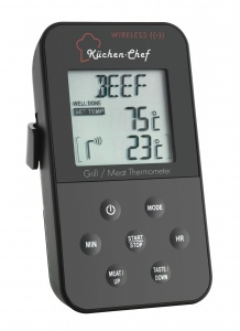 Küchen-Chef Funk-Grill-Bratenthermometer